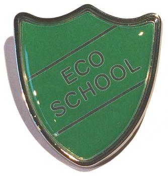 ECO SCHOOL shield badge